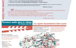 Parcours audio « Lisa, reporter-documentariste à Saint-Laurent »