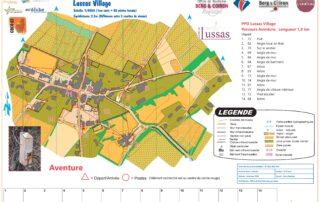 Parcours permanent d'orientation à Lussas - Aventure
