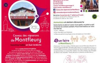 Le Passeport des Vignerons Ardéchois – Montfleury