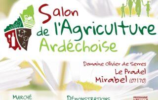 Salon de l'agriculture ardéchoise 2021