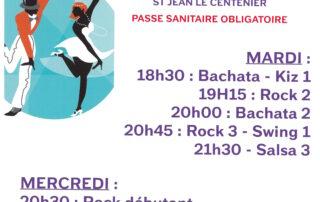 Cours de danses à St Jean le Centenier