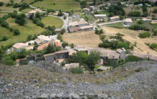 Sceautres village vue
