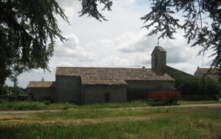 Church Saint Pierre of Berzème