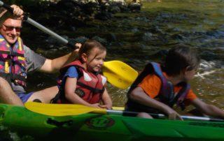 descente canoe accompagnée ccc chassezac