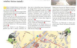 Circuit Randoland pour les enfants à Villeneuve de Berg