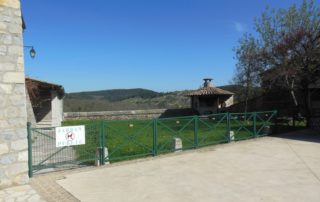 Picnic area of Saint Andéol de Berg