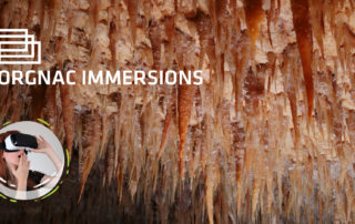 Orgnac Immersions - Salle des Sabres Aven Orgnac