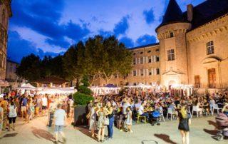 Marché nocturne d'Aubenas