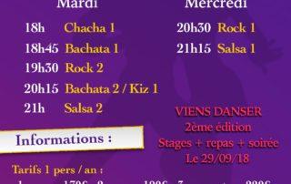 Cours de danse à St Jean le Centenier