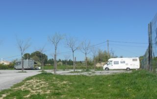 Aire camping-car communale