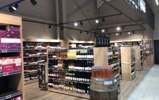 Intermarché - Rayon Vins à Villeneuve de Berg