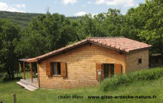 Chalets d'Arbres - Chalet Blanc