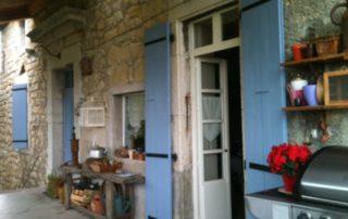 Terrasse - Domaine de la Manse