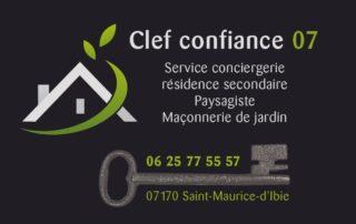 Paysagiste «Clef confiance 07»
