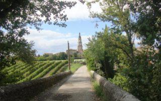Saint-Germain village vue Pont des Fusillés