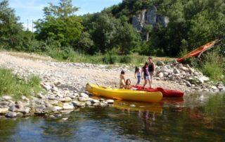 Canoë - Kayak de Vogüé à Balazuc - 6 km avec Balazuc Loisirs