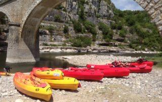 Canoë – Kayak de Balazuc à Pradons – 6 km avec Balazuc Loisirs