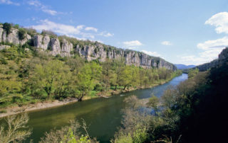 Canoë - Kayak de Balazuc à Ruoms - 14 km avec Balazuc Loisirs