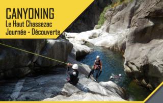 Canyoning – Le Haut Chassezac – Journée découverte avec le BMAM