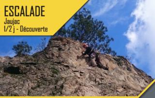 Escalade - Jaujac - 1/2 journée découverte avec le BMAM