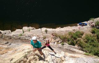 Via Ferrata - Le Pont du Diable - 1/2 journée famille avec le BMAM