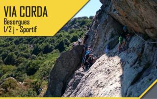 Via Corda – Besorgues- 1/2 Journée Sportif avec le BMAM