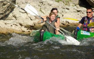 Canoë – Kayak de Vallon à Châmes – 6 km avec l'Arche de Noé