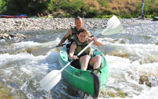 Canoë – Kayak de Châmes à Saint Martin d'Ardèche – 24 km / 1 jour avec l'Arche de Noé