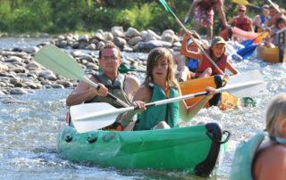 Canoë – Kayak de Vallon à Saint Martin d'Ardèche – 30 km / 2 jours avec l'Arche de Noé