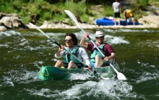 Canoë – Kayak de Vallon à Saint Martin d'Ardèche – 10 + 24 km / 2 jours avec l'Arche de Noé