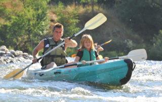 Canoë – Kayak de Vallon à Saint Martin d'Ardèche – 24 + 10 km / 2 jours avec l'Arche de Noé