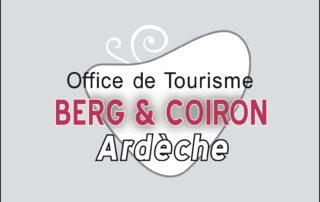 Logo Office de Tourisme Berg et Coiron
