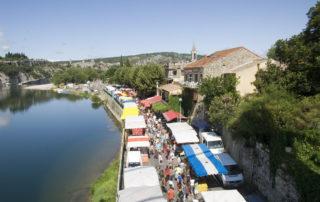 Marché estival de Saint-Martin-d'Ardèche