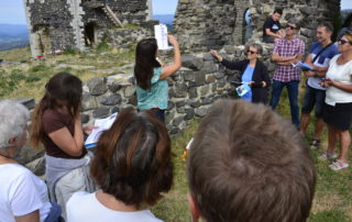 Guided tour of the village of Mirabel