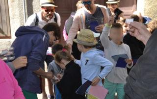 Visite guidée de Villeneuve de Berg, la bastide en famille