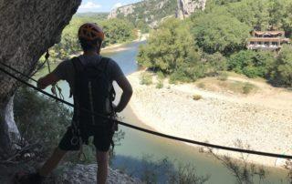 Rando aventure du Pont d'Arc