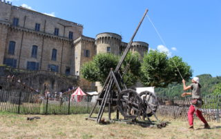 The Temps des Chevaliers – Medieval shows in the Castle of Largentière