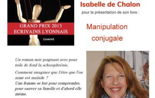 Rencontre avec Isabelle de Chalon