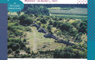 """Guided tour of the """"oppidum de Jastres"""""""
