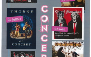 """Concert with """"Thorne""""at the brewery """"Brasserie des Rieux"""""""