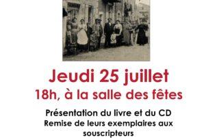 Présentation du livre et du CD «Lussas, un village dans la Grande Guerre»