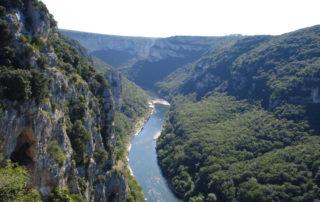 Canoë – Kayak de Valllon à St Martin d'Ardèche – 30 km / 2 jours avec Canoës Service