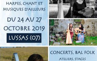 Les Journées d'Ulysse 3e édition – Festival de harpes chant et musiques d'ailleurs