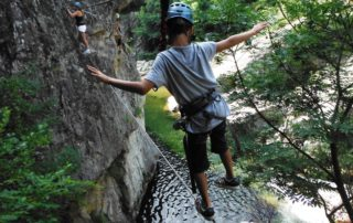 Via ferrata - pont de singe