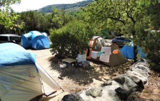 Camping les Lavandes - Darbres