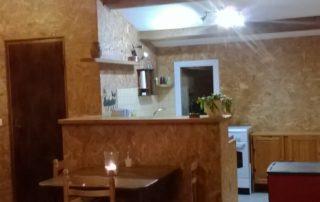 Ardelyne - le studio à Darbres - Côté repas