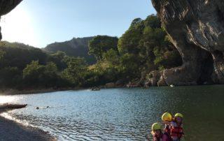 Canoë famille en soirée - Guided Sunset Canoe Trips