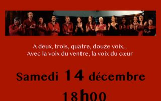 Polyphonic singing concert with Les Ouates