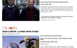 Ciné-mômes avec le film Shaun le mouton : la ferme contre-attaque