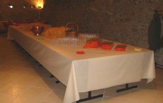 Ferme de Boulègue - Reception room